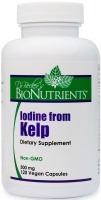 Iodine from Kelp, 500MG, 120 CT